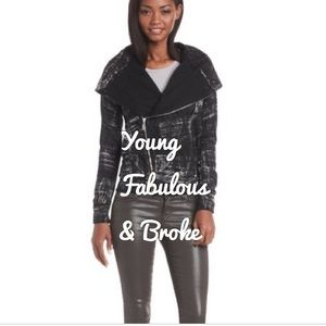 Young Fabulous & Broke | Asymmetrical Zip Jacket
